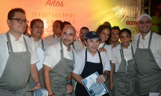 Trece chefs juntos celebraron el décimo aniversario de Zama