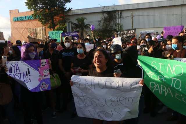 Quintanarroenses exigen justicia y piden freno a la violencia de género