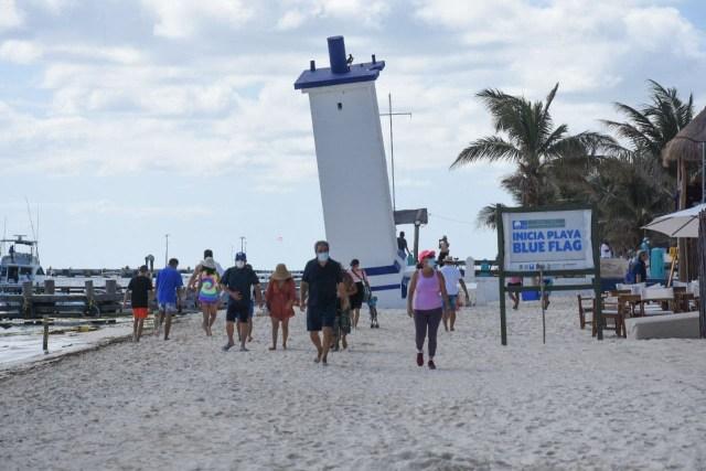 Avanza la recuperación turística de Puerto Morelos