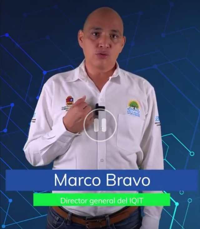 Quintana Roo un paso adelante en la tecnología, afirma Marco Bravo, director de IQIT @soyMarcoBravo @potysgob