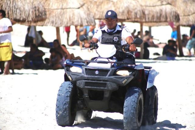 Vigilarán 2,500 elementos en Quintana Roo la seguridad de los vacacionistas