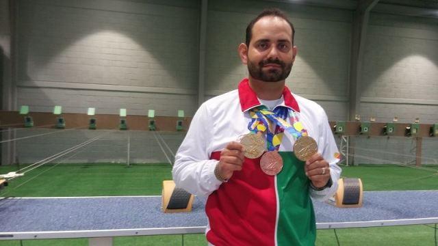 Seleccionado nacional en tiro deportivo, el queretano Daniel Urquiza