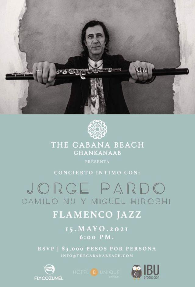 Vuelven los conciertos internacionales a Cozumel de la mano de Jorge Pardo, uno de los mejores exponentes del flamenco jazz