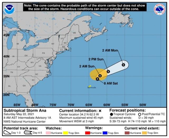 Pese a que empezó pronto, no será tan activa la temporada de ciclones