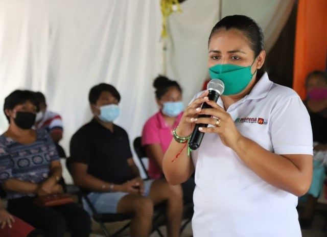 """Candidata Blanca Merari pide protección especial, no quiere sufrir lo mismo que su esposo """"Nacho"""" Sánchez"""