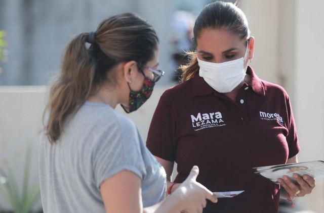 Mara Lezama promete WI FI gratuito y Centros Públicos de Cómputo para beneficiar a los jóvenes