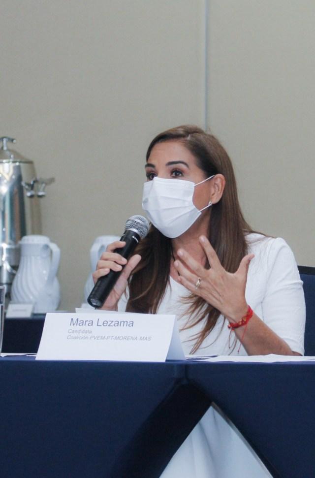 Mara Lezama reitera su compromiso con la transparencia y combate a la corrupción