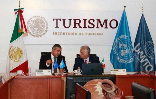 Secretario General de la OMT, Zurab Pololikashvili, inicia gira por México