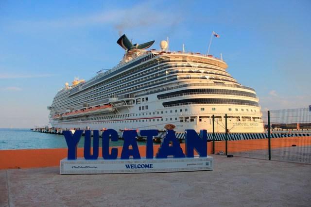 Se preparan en Yucatán para recibir cruceros