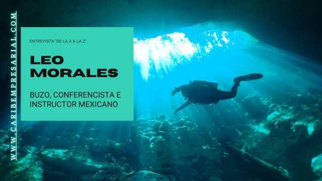 """Leo Morales, buzo adaptado con récord mundial de buceo profundo en entrevista """"De la A a la Z"""" @leomoralesbuzo"""