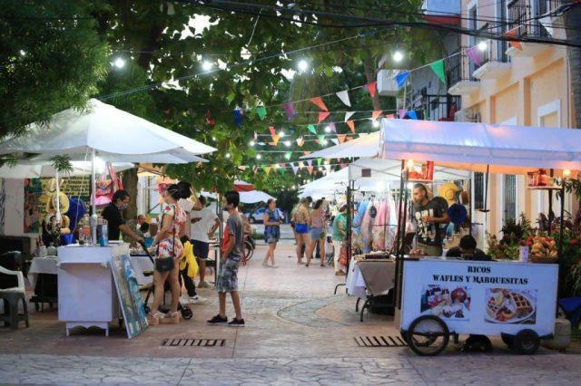 Crece el Callejón del Arte en Playa del Carmen