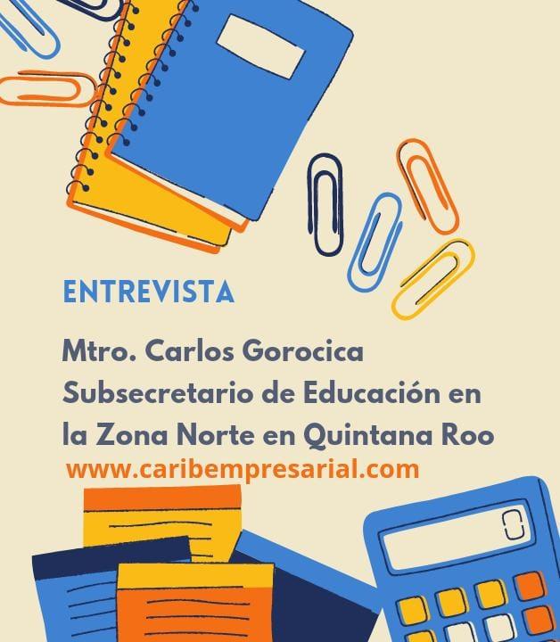 Como es este  regreso a clases  nos  dice el Subsecretario de Educación en la ZN, Carlos Gorocica