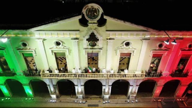 Celebran El Grito en la Península de Yucatán