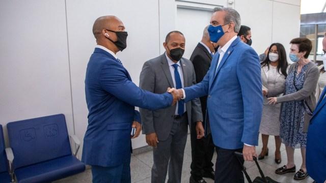 Llega a NY presidente de la República Dominicana para participar en sesión de la ONU