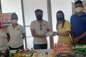 Apoya banco de alimentos Hanal Quinana Roo a grupos vulnerables a través de la fundación Cisvac