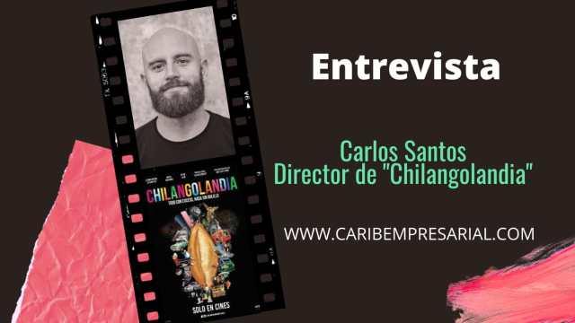 """Entrevista con el director de la cinta """"Chilangolandia"""", Carlos Santos Campos"""