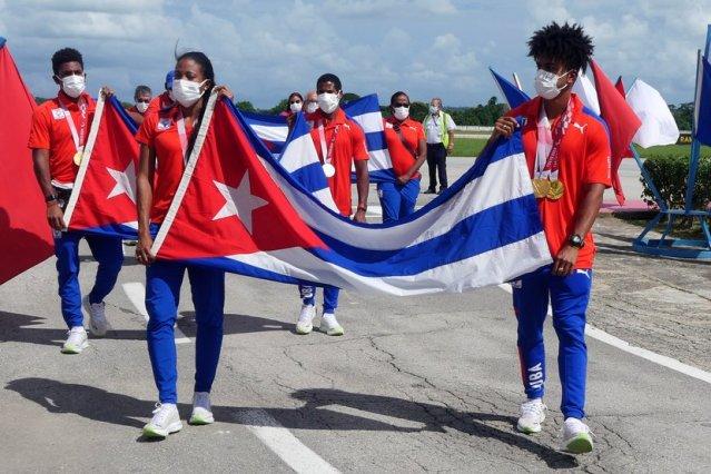 Homenajean en Cuba a las delegación de deportistas de los Paralímpicos Tokio 2021