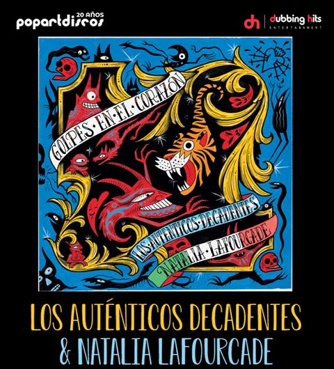 """Presentan los Auténticos Decadentes el sencillo """"Golpes en el Corazón"""" al lado de Natalia Lafourcade"""