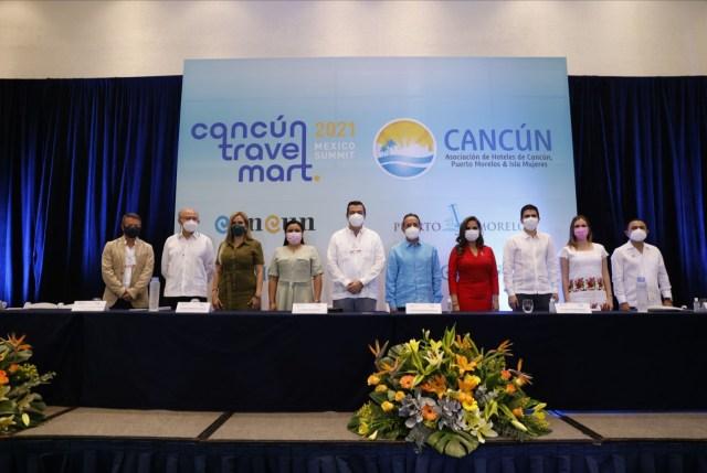 "CONCLUYE CON GRAN ÉXITO ""CANCÚN TRAVEL MART MÉXICO SUMMIT 2021"""