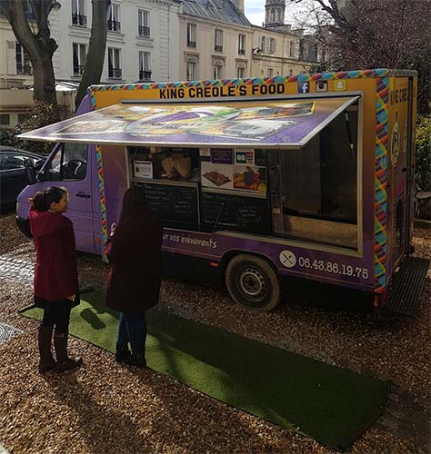 food truck antillais Paris King Creole Food 1