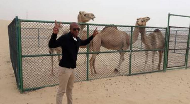 Pietrick martiniquais a Abu Dhabi caribexpat