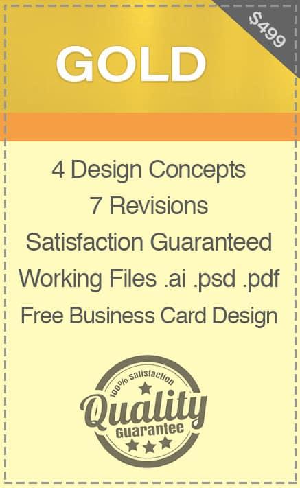 CARIBOO Logo Design Gold Package