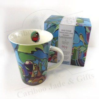 """""""And some watched the sunset"""" mug"""