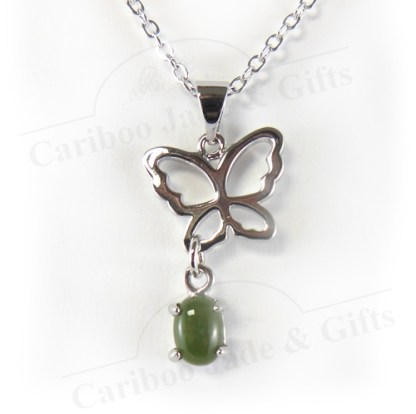 jade butterfly dawn necklace