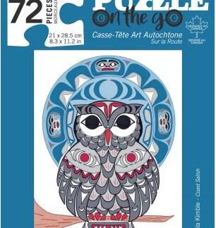 72 piece puzzle owl