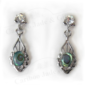 Glacier pearle vintage allure earring