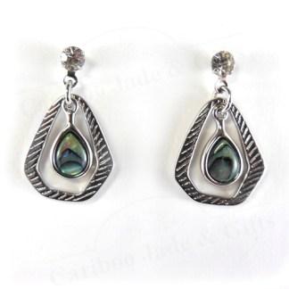 abalone regalia earrings