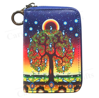 James Jacko tree of life coin purse