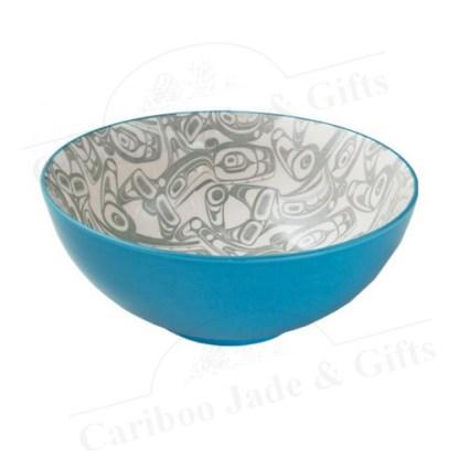 orca ceramic bowl by Kelly Robinson