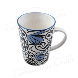 hummingbird porcelain mug by Bill Helin