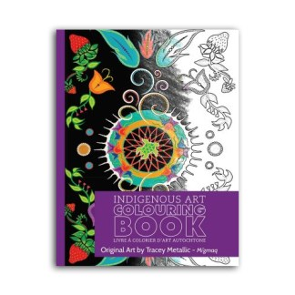 colouring book by Tracey Metallic
