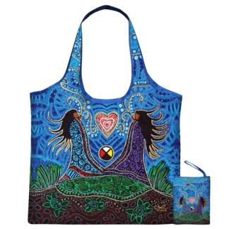 breath of life reusable shopping bag