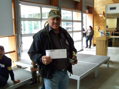 CMA Member Don with his Door Prize.
