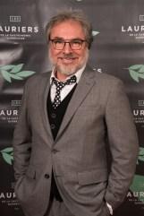 L'animateur de la soirée, Christian Bégin