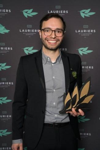 Pâtissier de l'année: Patrice Demers