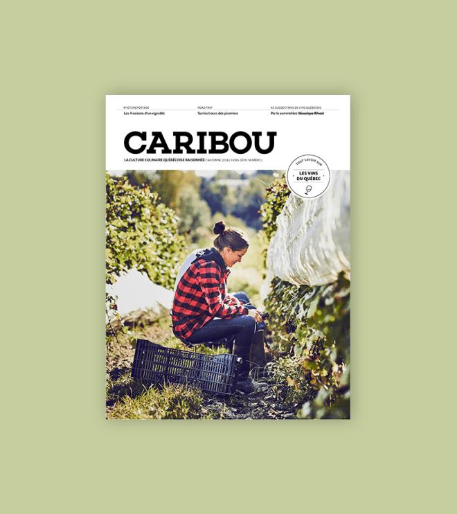 Caribou_hors-série_Les vins du Québec