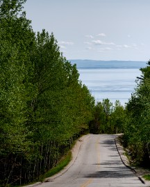 Road trip Chalevoix_route fleuve