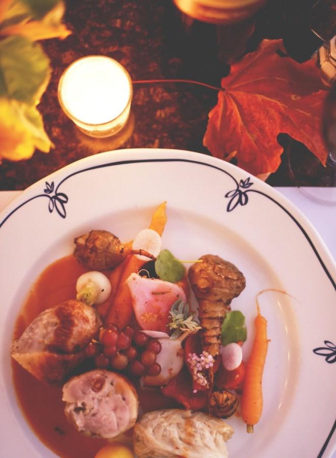 menu d'automne Bistro Côté Est