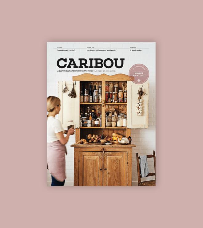 Caribou_hors-série_Manger 100% locall