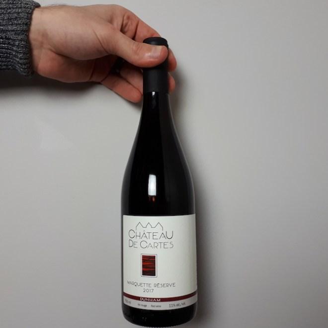 Marquette réserve du vignoble Château de cartes