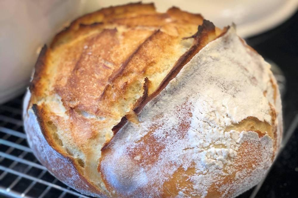 Recette de pain blanc de base