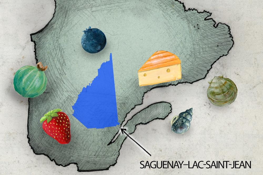 Carte Saguenay-Lac-Saint-Jean