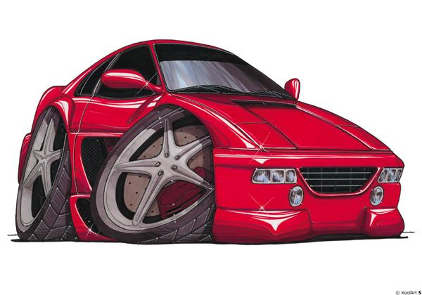 Ferrari F355 Rouge