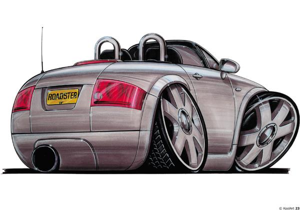 Audi TT Cabriolet Grise