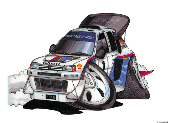 Peugeot 205 T16 Rally Blanche