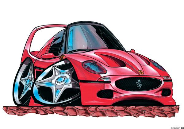 Ferrari F50 Sport Rouge
